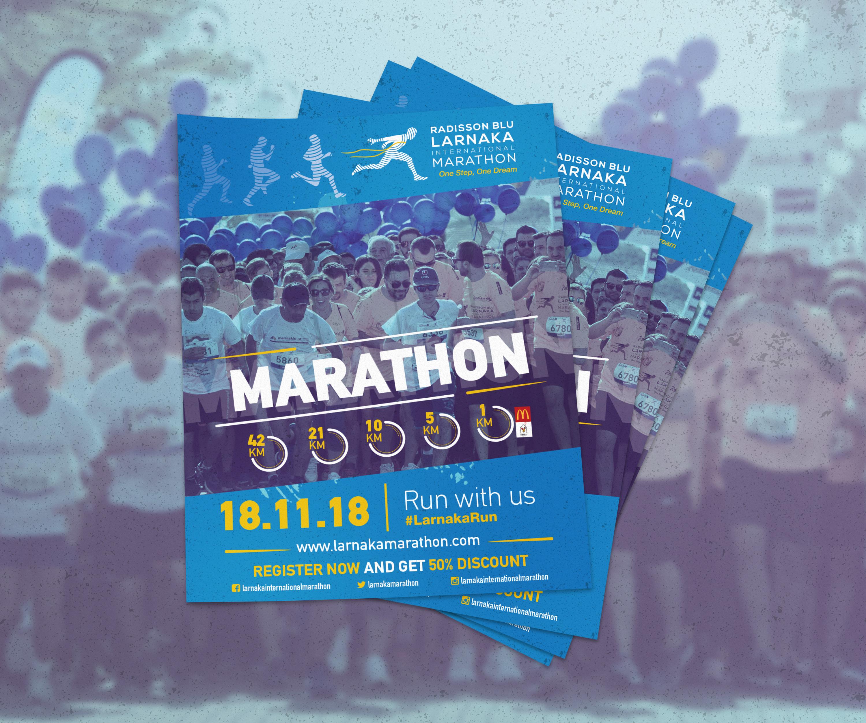 Larnaka International Marathon Flyer