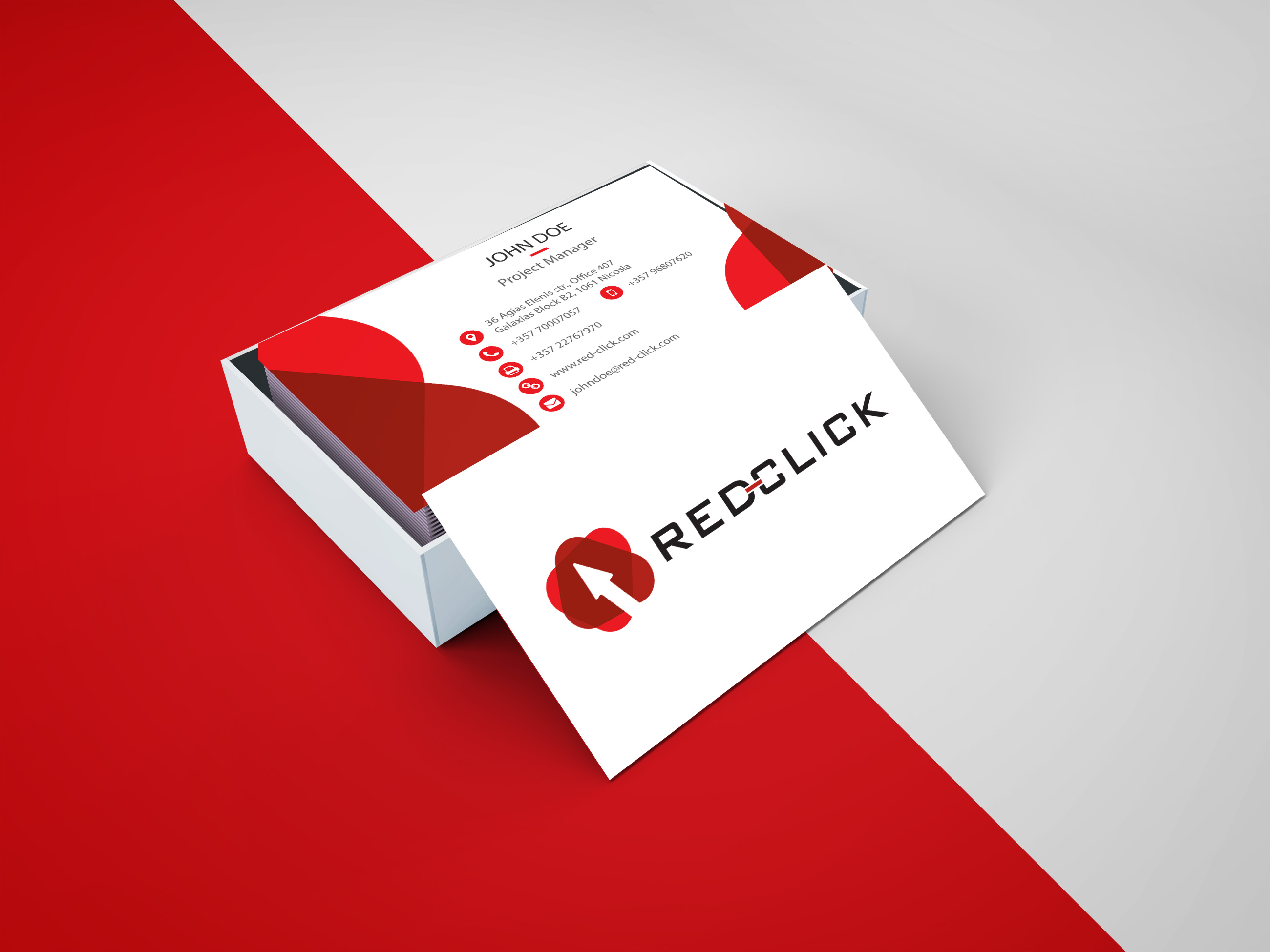 Red Click - Business Cards